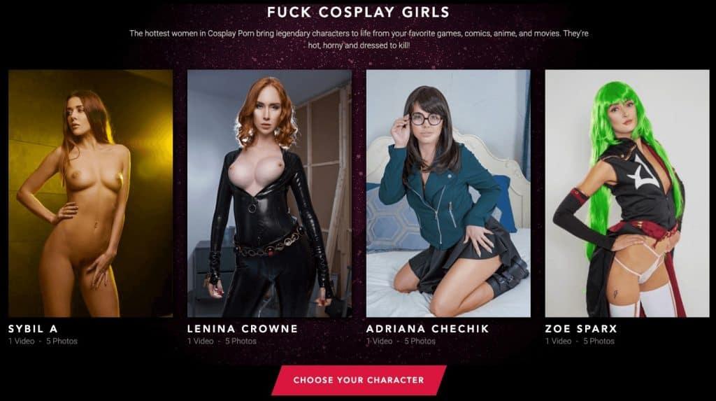 cosplay girls from vrcosplayx