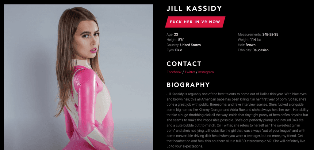 jill kassidy profile bio from vrcosplayx