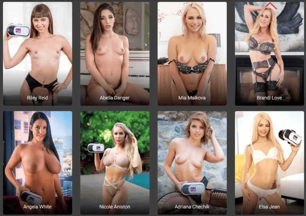 the top models featured in vrbangers movies