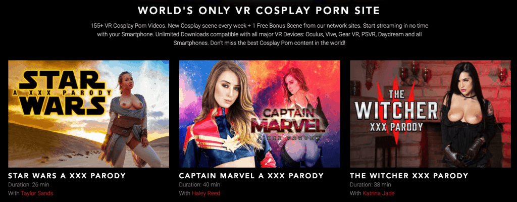 top 3 movies on vrcosplayx