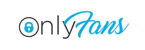 logo onlyfans en bleu et noir sur fond blanc